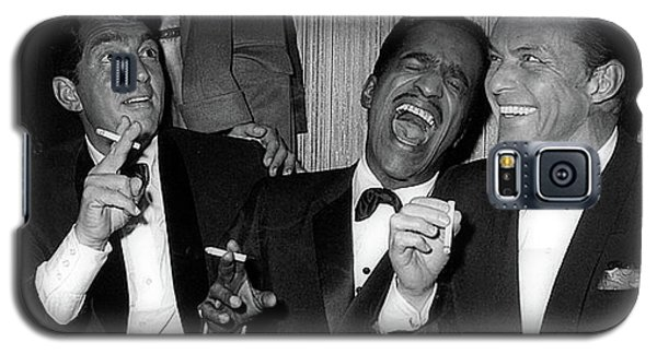 Dean Martin, Sammy Davis Jr. And Frank Sinatra Laughing Galaxy S5 Case