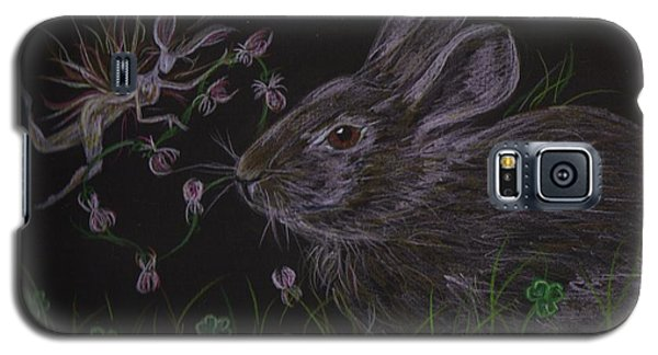 Dearest Bunny Eat The Clover And Let The Garden Be Galaxy S5 Case
