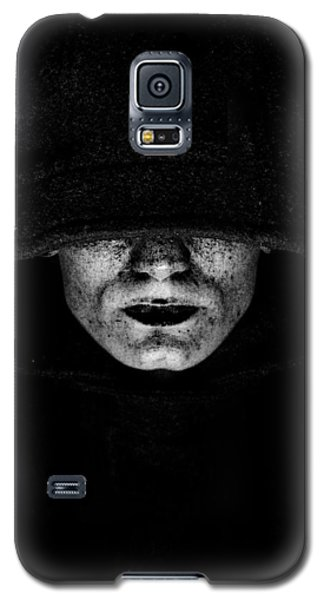 Galaxy S5 Case featuring the photograph Death by Gabor Pozsgai