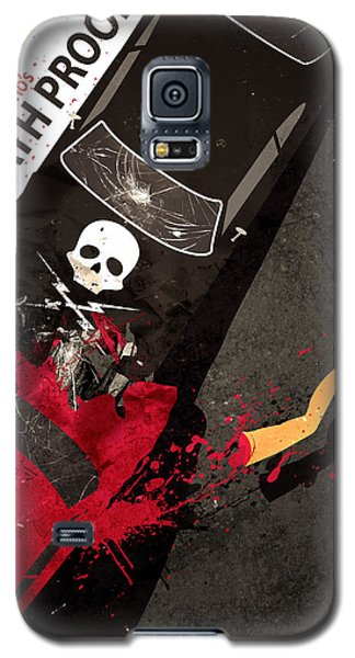 Death Proof Quentin Tarantino Movie Poster Galaxy S5 Case