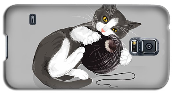 Cats Galaxy S5 Case - Death Star Kitty by Olga Shvartsur