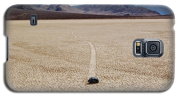 Galaxy S5 Case featuring the photograph Death Valley Racetrack by Breck Bartholomew