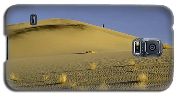Death Valley Sand Dune At Sunset Galaxy S5 Case