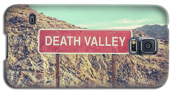 Death Valley Sign Galaxy S5 Case