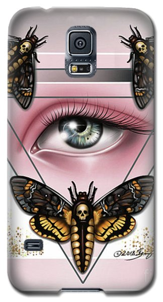 Death's Head Moths Galaxy S5 Case