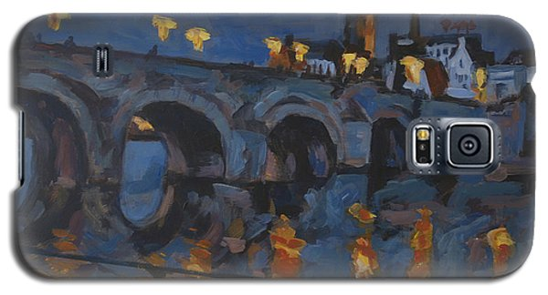 December Lights Old Bridge Maastricht Acryl Galaxy S5 Case