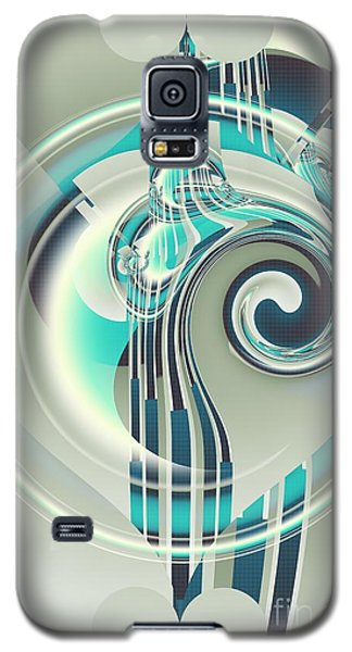 Galaxy S5 Case featuring the digital art December by Michelle H