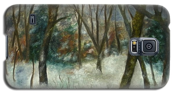 December On Cooper Hill Galaxy S5 Case