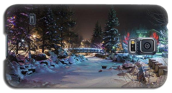 December On The Riverwalk Galaxy S5 Case