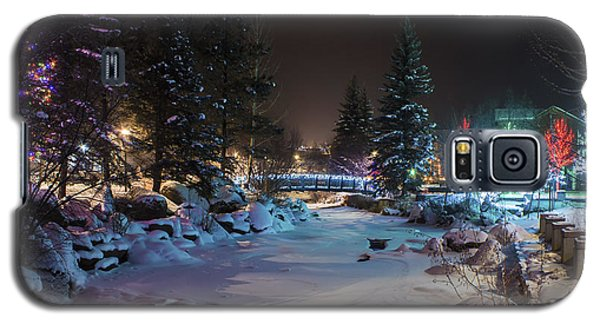 December On The Riverwalk Galaxy S5 Case
