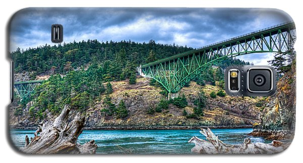 Deception Pass Bridge Galaxy S5 Case