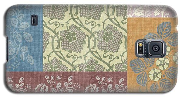 Deco Flower Patchwork 2 Galaxy S5 Case