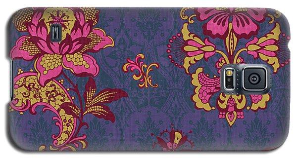 Deco Flower Purple Galaxy S5 Case