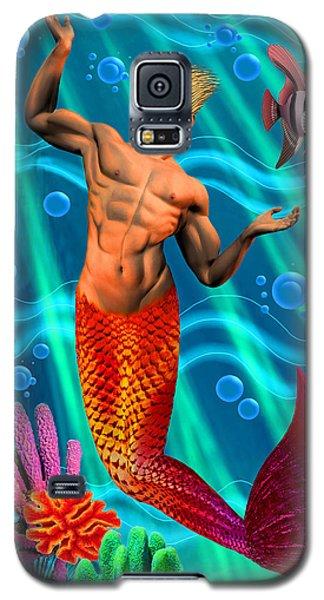 Deco Merman 2 Galaxy S5 Case