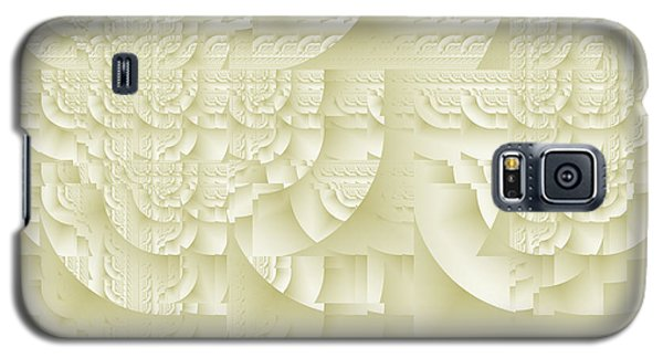 Galaxy S5 Case featuring the digital art Deco Relief by Richard Ortolano