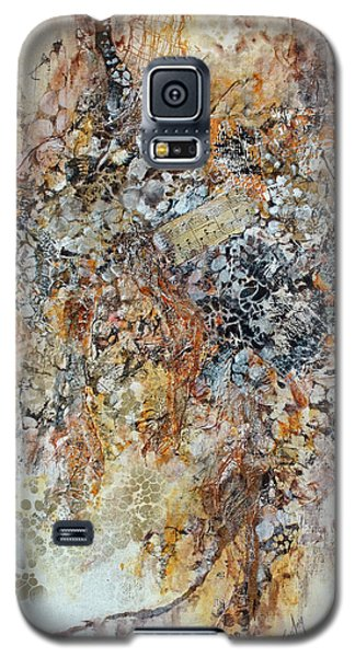 Galaxy S5 Case featuring the painting Decomposition  by Joanne Smoley
