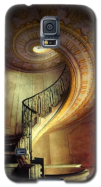 Decorated Spiral Staircase  Galaxy S5 Case by Jaroslaw Blaminsky