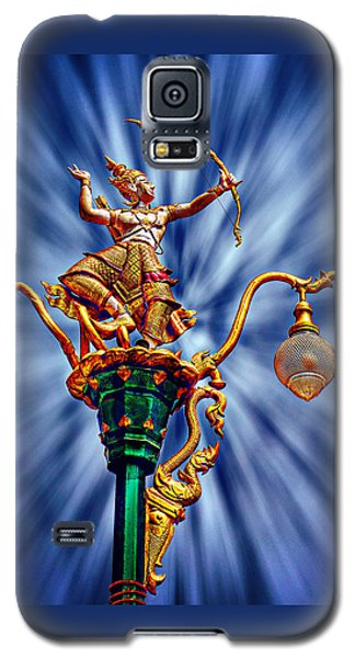 Decorative City Lamp Post Khon Kaen-thailand Galaxy S5 Case