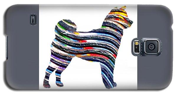 Decorative Husky Abstract O1015b Galaxy S5 Case