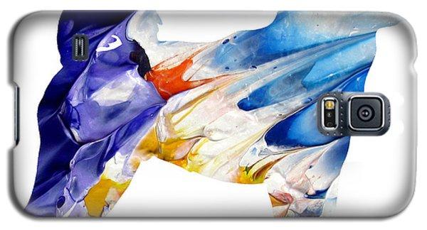 Decorative Husky Abstract O1015c Galaxy S5 Case
