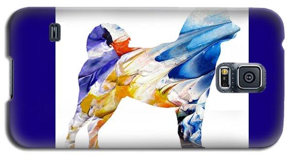 Decorative Husky Abstract O1015e Galaxy S5 Case