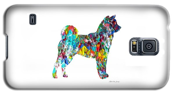 Decorative Husky Abstract O1015h Galaxy S5 Case