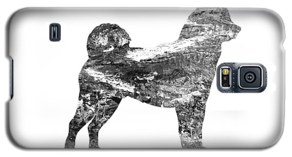 Decorative Husky Abstract O1015j Galaxy S5 Case