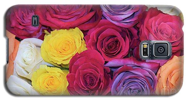 Decorative Wallart Brilliant Roses Photo B41217 Galaxy S5 Case