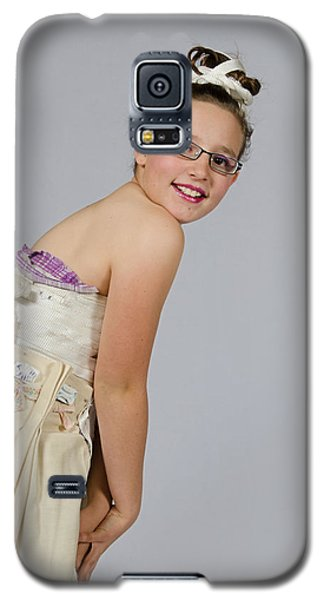Deedee In A 1950s Style Dress Galaxy S5 Case