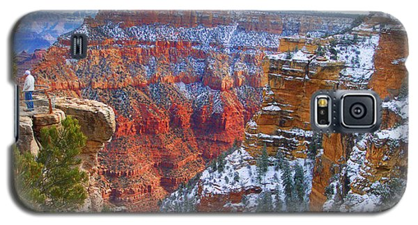 Galaxy S5 Case featuring the photograph Deep And Wide by Roberta Byram