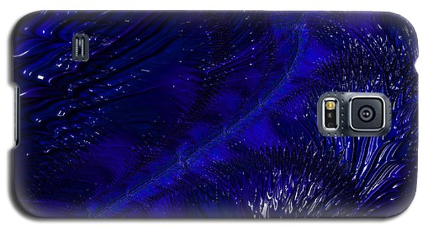 Deep Blue Galaxy S5 Case