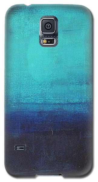 Galaxy S5 Case featuring the painting Deep Blue Sea by Nicole Nadeau