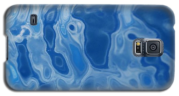 Deep Blue Tide Galaxy S5 Case