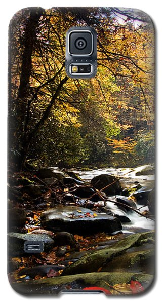 Galaxy S5 Case featuring the photograph Deep Creek Mountain Stream by Bob Decker