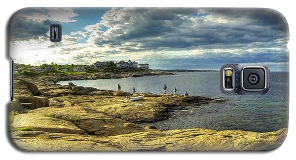 Galaxy S5 Case featuring the photograph Deep Horizon by Adrian LaRoque