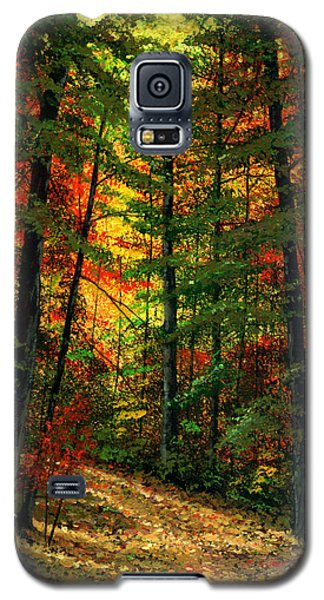 Deep In The Forest Galaxy S5 Case