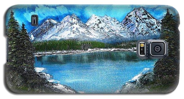 Deep Mountain Lake Galaxy S5 Case by Valerie Ornstein