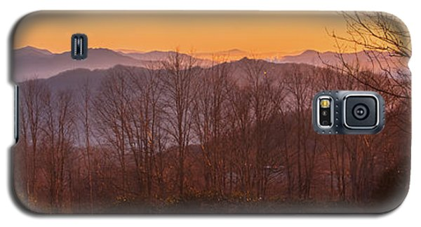 Deep Orange Sunrise Galaxy S5 Case