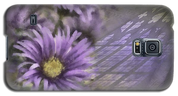 Deep Purple Galaxy S5 Case