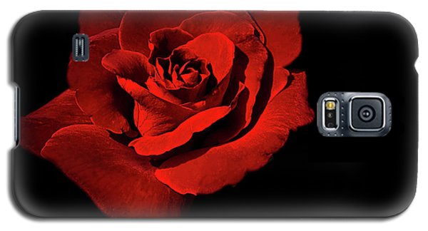 Galaxy S5 Case featuring the photograph Deep Red by Ken Frischkorn