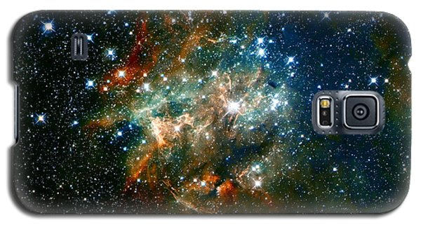 Deep Space Star Cluster Galaxy S5 Case