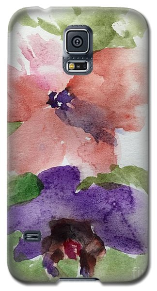 Galaxy S5 Case featuring the painting Deep Within by Trilby Cole