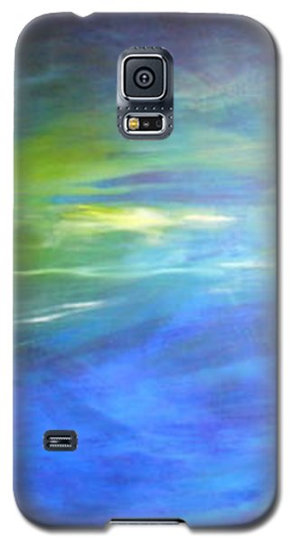 Galaxy S5 Case featuring the painting Deeper And Deeper by Mary Sullivan