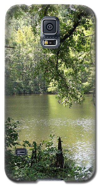 Galaxy S5 Case featuring the photograph Deepwood Retreat by John Glass