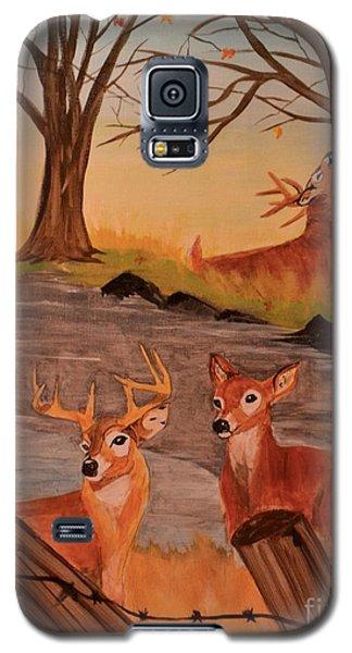 Deer 4 Sean Galaxy S5 Case