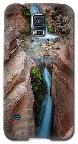 Deer Creek Double Waterfall Galaxy S5 Case