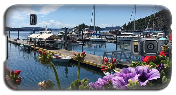 Galaxy S5 Case featuring the photograph Deer Harbor By Day by William Wyckoff