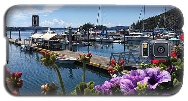 Deer Harbor By Day Galaxy S5 Case by William Wyckoff