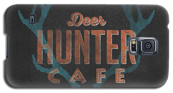 Deer Hunter Cafe Galaxy S5 Case by Edward Fielding