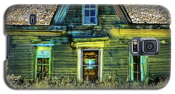 Deer Isle Haunted House Galaxy S5 Case